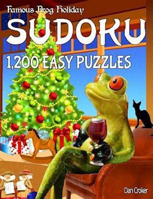 Bog, paperback Famous Frog Holiday Sudoku 1,200 Easy Puzzles af Dan Croker
