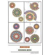 Mandala Coloring Book af Andelka Pankovic