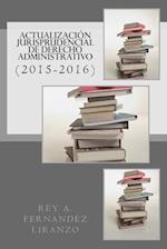 Actualizacion Jurisprudencial de Derecho Administrativo