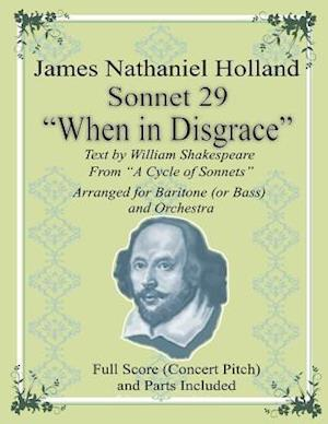 """Sonnet 29 """"When in Disgrace"""""""