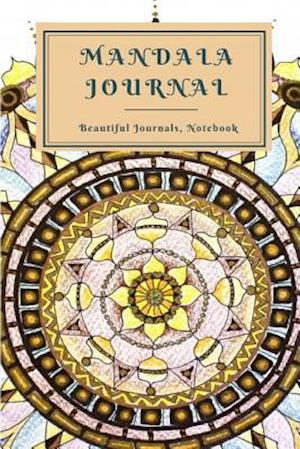 Bog, paperback Mandala Journal Writing af T. Thaphada Journal
