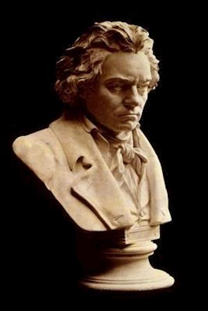 Bog, paperback Bust of Ludwig Van Beethoven Journal af Cool Image