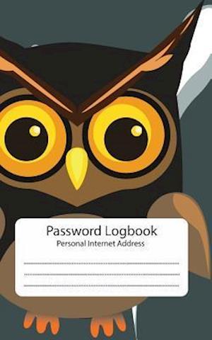 Bog, paperback Password Log af Owl Collection