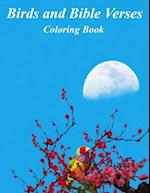 Birds and Bible Verses Coloring Book