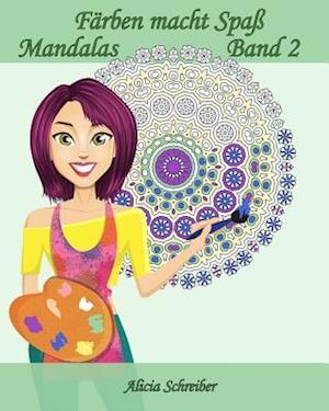 Bog, paperback Farben Macht Spass - Mandalas - Band 2 af Alicia Schreiber