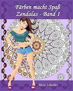 Farben Macht Spass - Zendalas - Band 1 af Alicia Schreiber
