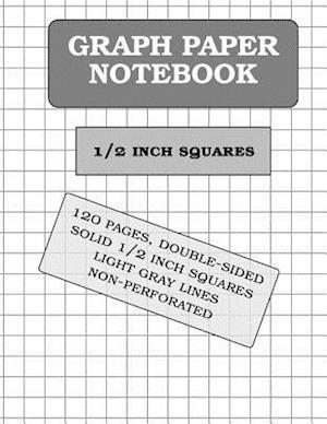 Bog, paperback Graph Paper Notebook af Graph Paper and More