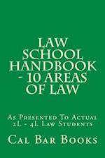 Law School Handbook - 10 Areas of Law