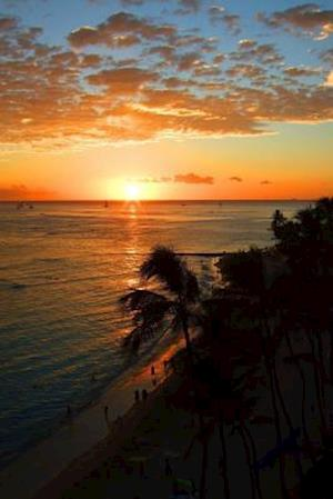 Bog, paperback Website Password Organizer Waikiki Beach Sunset af Unique Journal