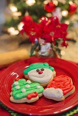 Decorated Cookies for Santa Journal