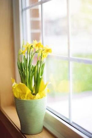 Bog, paperback Spring Daffodils on the Windowsill Journal af Cs Creations