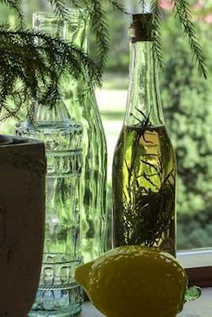 Bog, paperback Vintage Bottles in the Windowsill af Unique Journal