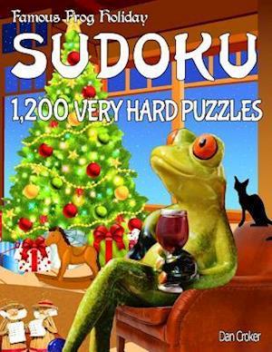 Bog, paperback Famous Frog Holiday Sudoku 1,200 Very Hard Puzzles af Dan Croker