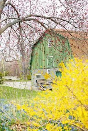 Country Barn in the Spring Journal