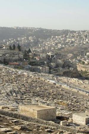 Bog, paperback Aerial View of the Holy City of Jerusalem, Israel af Unique Journal