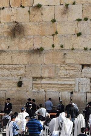 Bog, paperback Praying at the Wailing Wall in Jerusalem, Israel af Unique Journal