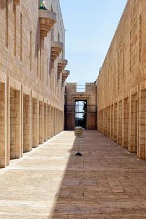 Bog, paperback The Palace of Justice in Jerusalem, Israel af Unique Journal