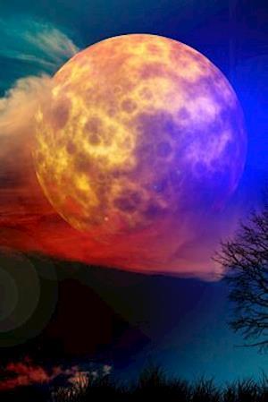 Bog, paperback Moon with a Colorful Night af Unique Journal