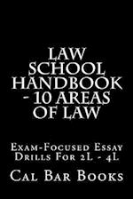 Law School Handbook - 10 Areas of Law af Cal Bar Books