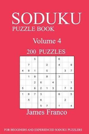Bog, paperback Sudoku Puzzle Book af James Franco