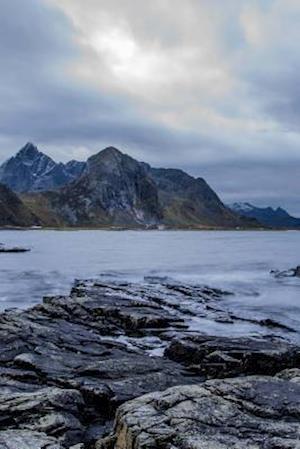 Bog, paperback A Beautiful Sunset in Lofoten, Norway af Unique Journal