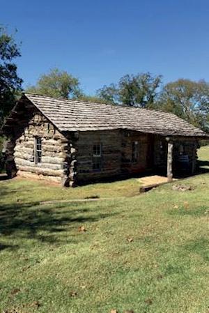 Bog, paperback Log Cabin in Pawnee Oklahoma Journal af Cool Image