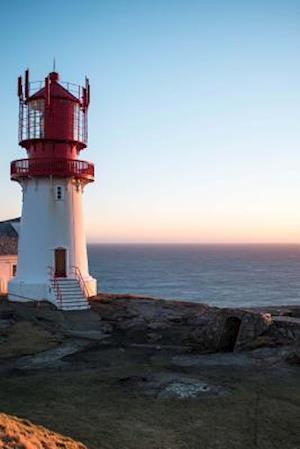 Bog, paperback The Lindesnes Lighthouse in Norway af Unique Journal