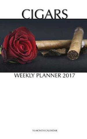 Bog, paperback Cigars Weekly Planner 2017 af David Mann