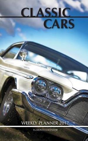 Bog, paperback Classic Cars Weekly Planner 2017 af David Mann