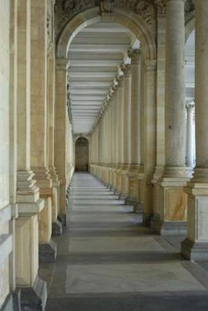 Bog, paperback Colonnade at Karlsbad in Western Bohemia Czech Republic Journal af Cool Image