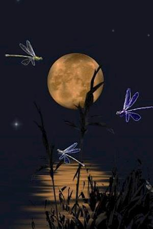 Bog, paperback Dragonfly Dance and a Full Moon Journal af Cs Creations