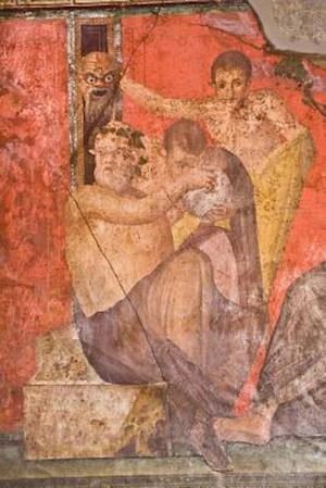 Bog, paperback Fresco from Pompeii's Villa of Mysteries Italy Journal af Cool Image