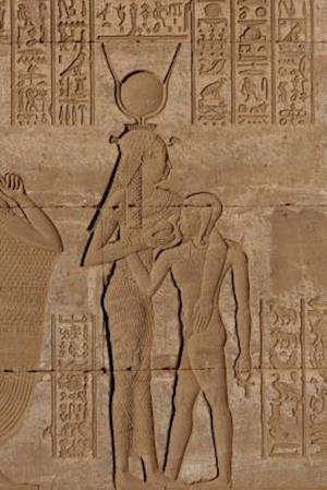 Bog, paperback Goddess Hathor Feeding Horus Bas-Relief at Dendara Egypt Journal af Cool Image