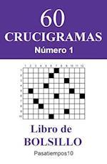 60 Crucigramas Libro de Bolsillo - N. 1