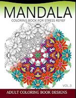 Mandala Coloring Books for Stress Relief Vol.3 af Colordesign