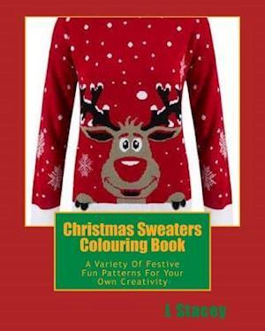 Bog, paperback Christmas Sweaters Colouring Book af L. Stacey