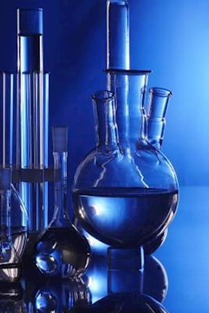 Bog, paperback Cool Blue Beakers and Bottles in a Chemistry Lab af Unique Journal