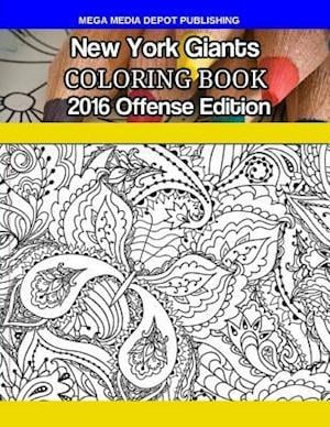 Bog, paperback New York Giants 2016 Offense Coloring Book af Mega Media Depot