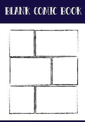 Bog, paperback Blank Comic Book Panelbook - Bruch Panel, 7x10, 130 Pages af Banana Leaves