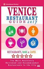 Venice Restaurant Guide 2017
