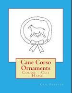 Cane Corso Ornaments
