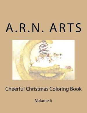 Bog, paperback Cheerful Christmas Coloring Book af A. R. N. Arts