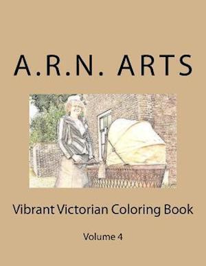 Bog, paperback Vibrant Victorian Coloring Book af A. R. N. Arts