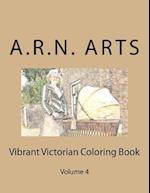 Vibrant Victorian Coloring Book af A. R. N. Arts