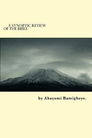Bog, paperback A Synoptic Review of the Bible. af MR Abayomi Donatus Bamigboye