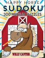 Happy Horse Sudoku 300 Medium Puzzles af Willy Canter