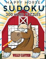 Happy Horse Sudoku 300 Hard Puzzles af Willy Canter