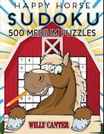 Happy Horse Sudoku 500 Medium Puzzles