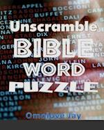 Unscramble Bible Word Puzzles ?For Adults & Kids af Omolove Jay