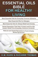 Essential Oils Bible for Healthy Living